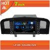 navegador del GPS GPS del coche de 7inch Lifan Solano 620