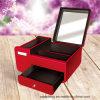 Caja cosmética de encargo de la cabina de la joyería