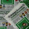 Vajilla impreso de la historieta de la servilleta del partido de las servilletas de papel