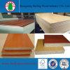 Il grano di legno della melammina E2 ha affrontato Flakeboard/cartone per scatole