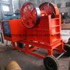 Pequeña trituradora de piedra portable 400 del PE 250 con precio competitivo