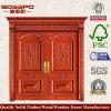 別荘(XS1-003)のための旧式な二重前部木製のドア