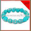 2012 New Design Green Skull Bead Bracelet