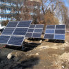 Земное Mounting Rail Bracket PV Ground Mount Panel Bracket Ground Screw для PV Solar Mounting