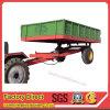 De tractor sleepte de Dumpende Aanhangwagen van het Landbouwbedrijf