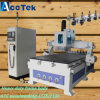 macchina 1530 del router di CNC della mobilia di falegnameria 3D con il cambiamento automatico lineare dello strumento per la scultura del legno