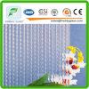vidro oceânico de vidro modelado do espaço livre da qualidade 2.5mmhigh/indicador