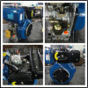 Color azul 5-14HP Diesel Engine Set (ETK186F)