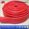 Tuyau rouge de l'eau de décharge de PVC Layflat