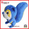 プラシ天のおもちゃの爪のMachingのプラシ天のおもちゃの青いリスのプラシ天のおもちゃ