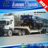 Гидровлические 80 тонн складывая затяжелитель Gooseneck низкий, трейлер Lowboy Semi