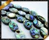 Abalone Shell vlak Ovale Parels, Shell Juwelen (APS020)