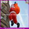 Горячее раздувное взбираясь раздувное Санта для украшения рождества