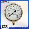 Toda la exactitud 1.0% de los manómetros de la presión de la seguridad del acero inoxidable