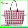 Luda Printed Paper Straw Bag para Lady