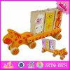 2016 giocattoli di legno all'ingrosso per i bambini, giocattoli d'impilamento di legno per i bambini, migliori giocattoli di legno dell'automobile di nuovo disegno per i bambini W04A307
