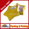 Rectángulo de papel de empaquetado modificado para requisitos particulares OEM del regalo de la estrella de la cartulina (1245)