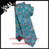 Lazo impreso seda hecha a mano Paisley del 100% para los hombres