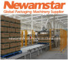 Pórtico Palletizer del empaquetado secundario de Newamstar