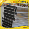 Aluminiumlieferanten-Aluminiumu-profilstäbequadratisches Aluminiumgefäß