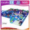 Rosafarbener Thema-Spielplatz für Kinder