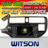 Auto DVD KIA K3/Rio 2012/Fortek3 des Witson Android-5.1 mit Vierradantriebwagen-Kern Rockchip 3188 1080P 16g des ROM-WiFi 3G Abbildung Internet-Schrifttyp-DVR (W2-F9583K)
