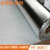 Paño de alta temperatura de la fibra de vidrio del aislante de China con el papel de aluminio