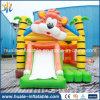 Guangzhou-Fabrik kundenspezifisches aufblasbares Tiger-Prahler-Schloss mit geschoben für Kinder