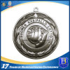3D Medaglione Event con finitura argento antico (Ele-medaglia-009)