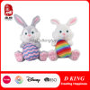 Brinquedo macio do luxuoso do animal enchido do presente da decoração do coelho de Easter