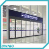 باب عادية آليّة - [هنغزهوو] شرفيّة محطّة سكّة الحديد مشروع في 2013