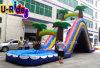 Corrediça de água inflável arqueada com associação