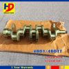 eixo de manivela do motor de 4bd1 4bd1t (5-12310-163-0 5-12310-189-1)