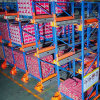 Système de stockage lourd de navette de palette de crémaillère en acier