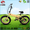 250W fettes faltbares elektrisches Fahrrad-preiswertes Fahrrad des Gummireifen-En15194