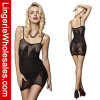 Ropa interior atractiva de señora Black Perspective Dress Lingerie