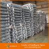 Almacén galvanizado jaulas de acero de malla de almacenamiento