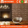 Классицистический Brown Bricks Wall Panel/Wallcovering для Interior Decor