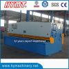 QC11Y-16X4000 E21s Control Guillotine Shearing Machine per Carbol Steel Stainless Steel