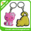 3D Custom Cartoon Animals Soft PVC Rubber Keychain (SLF-KC071)