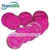Розовый значок монетки плоского стекла коммеморативный