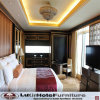 Mobília luxuosa moderna chinesa do quarto do hotel da série da madeira contínua