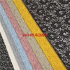 Французский хлопок/Nylon ткань шнурка вспомогательного оборудования (6438)