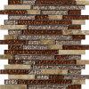 建築材料の壁および床タイルのガラス石造りのモザイク