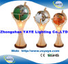 Yaye Hot Sell 330mm Lighting Gemstone Globe con CE/RoHS/Office Decoration/Home Decoration