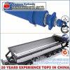 ダンプトラックまたはダンプカーのための水平の方向水圧シリンダ