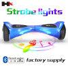 Elektrische Autoped van het Saldo van twee Wiel de Slimme met de Lichten van de Stroboscoop