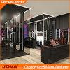 Rayon de magasin cosmétique au détail de mode, stand cosmétique de mémoire, rayon de magasin de parfum