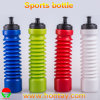 Pop Cup Shape를 가진 BPA Free 500-900ml Sports Extensile Bottle