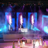 Sale caldo Cheap P10 Mesh Grid Curtain LED Display per Stage